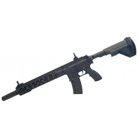 "Assault rifle type 416 Delta 14,5"" AEG black ECEC System + silencer"