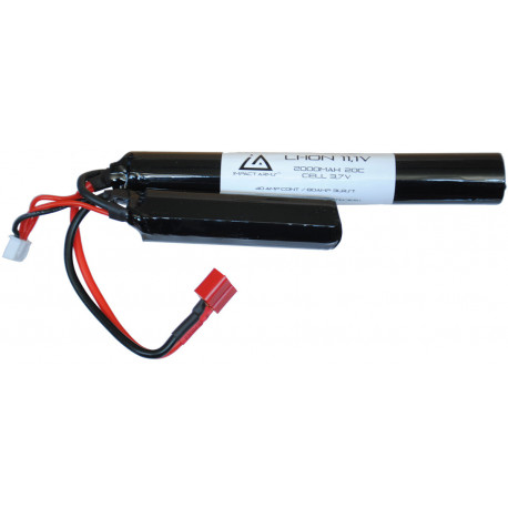 Li-ion Battery 11,1V 2000Mah 20C Nunchuck type with T Dean