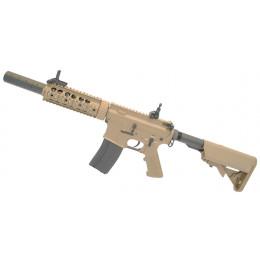 """Réplique d'assaut M4 Special Operation 7"""" AEG Tan ECEC Système"""