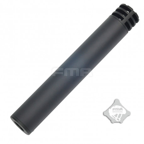 Silencieux aluminium Harvester-I Noir de 223mm en 14mm CW ou CCW