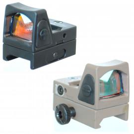 Micro Red Dot RMR Noir ou Tan avec montage picatinny