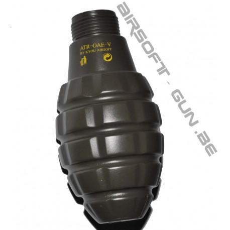 4 différentes coques au choix pour grenade ATR OAE ou Pathfinder
