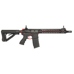 Assault rifle M4 AEG CM16 SRXL red edition with mosfet AEG