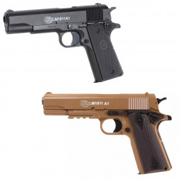 Pistolet Colt 1911 culasse métal manuel à ressort