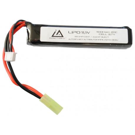 Batterie Lipo 11,1V 1100Mah 20C type stick mini