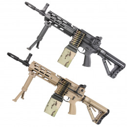 Light Machine Gun CM16 LMG AEG + Mosfet G&G
