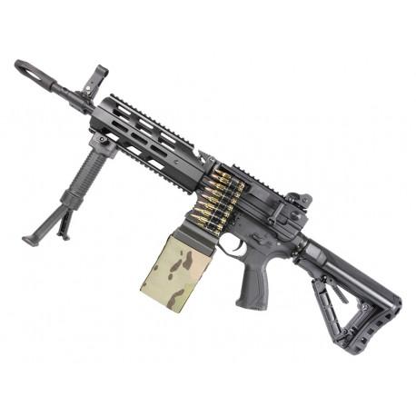 Light Machine Gun CM16 LMG AEG + Mosfet G&G black