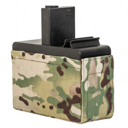 Chargeur Drumbox G&G LMG Multicam