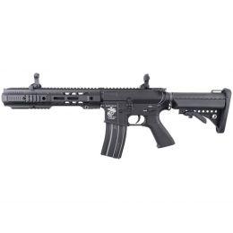 """Réplique d'assaut M4 SAI GRY 11,5"""" AEG Noir ECEC Système vue 1"""
