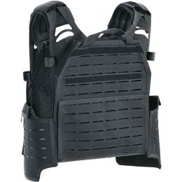 Defcon 5 plate carrier laser cut black