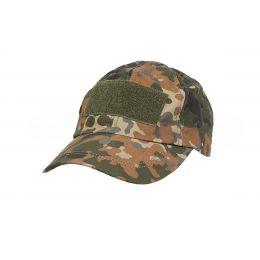 Baseball cap with velcro in Flecktarn
