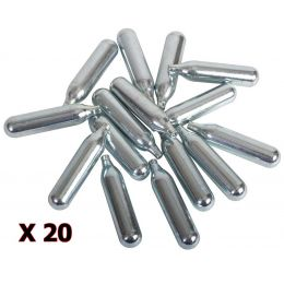 Pack 20x Capsule de Co2 de 12gr