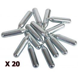 Pack 20x Co2 Sparklet cartridge 12gr