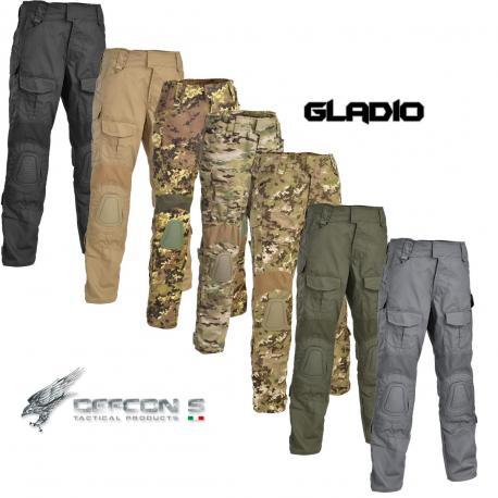 Pantalon Tactique Gladio avec genouillère plastique