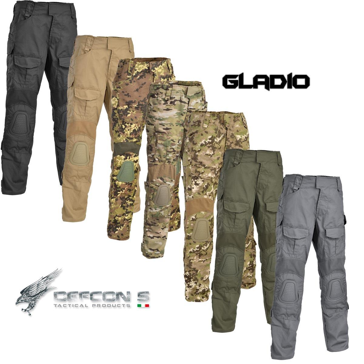 Tactical Pants Gladio With Plastic Knee Pads