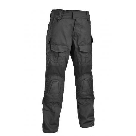 Tactical pants Gladio with plastic knee pads Black