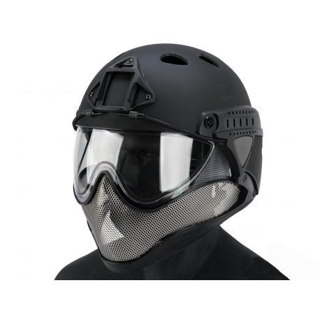Casque de protection complet WARQ noir