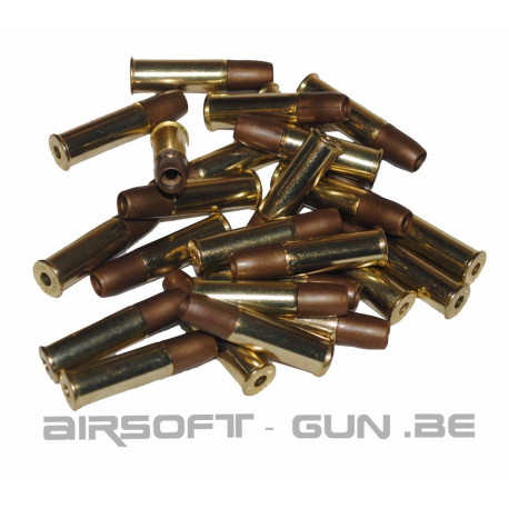 Pack de 25 douilles pour Dan Wesson 6mm