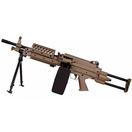 FN Herstal Minimi MK46 AEG Full Metal Dark Earth