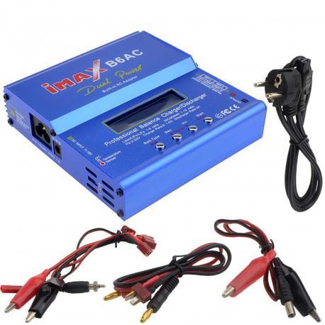 Battery charger B6AC for LiIon/LiPo/LiFe/NiCd/NIMH