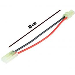 Extension câble 10cm mini Tamiya male vers Mini Tamiya femelle