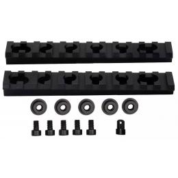 Kit de 2 rails picatiny pour garde main M4A / M733 / M16A2