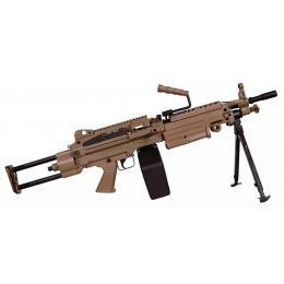 FN Herstal Minimi M249 PARA AEG Full Metal Dark Earth