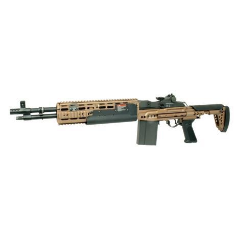 Assault Rifle M14 HBA EBR AEG Bronze Short version