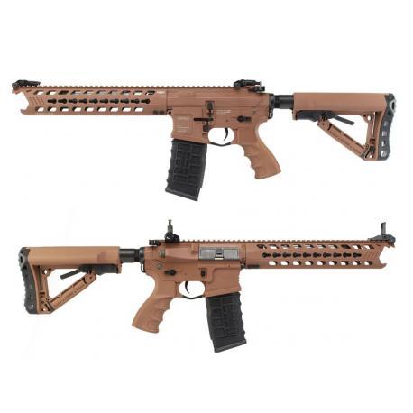 Assault rifle M4 GC16 predator Coyote Brown + Mosfet AEG