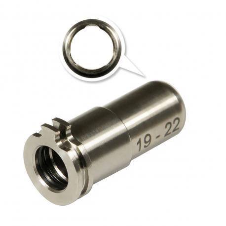 Adjustable Titanium CNC nozzle AEG from 19mm to 22mm