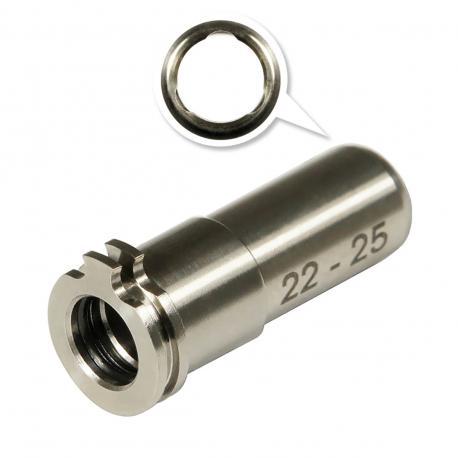 Adjustable Titanium CNC nozzle AEG from 22mm to 25mm