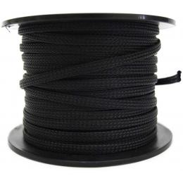 Braided sleeve Black for air line 6mm
