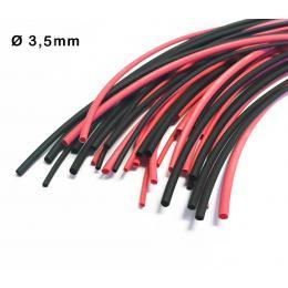Heat Shrink tube Black 3.5mm ( 1 meter )