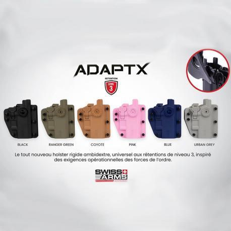 Holster CQC Adapt-X Level 3 Ambidextre rotatif universel