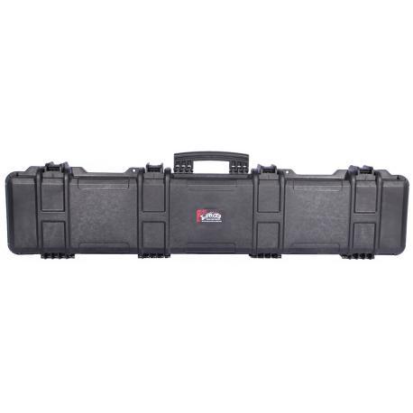 Hard gun case Black 1252x294x129