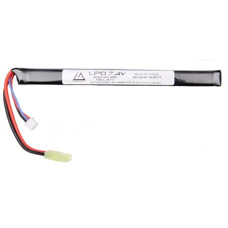 Batterie Lipo 7.4V 1200Mah 25C type stick AK