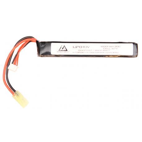 Batterie Lipo 11,1V 1200Mah 20C type stick Mini Tamiya