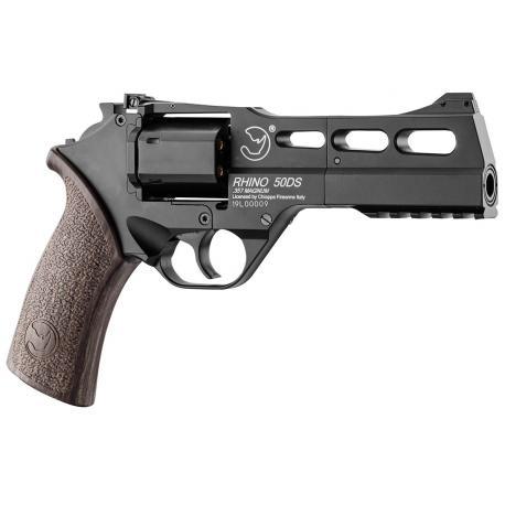 Revolver Rhino 50DS Co2 Noir