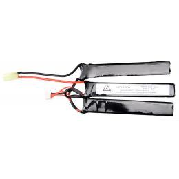 Batterie Lipo 11,1V 1200Mah 20C type triplette Mini Tamiya