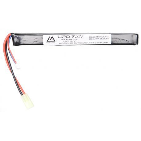 Lipo Battery 7.4V 1300Mah 25C Stick AK type Mini Tamiya