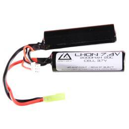 Batterie Li-ion 7,4V 2000Mah 20C type nunchuck avec Mini Tamiya