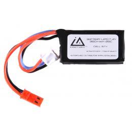 Batterie Lipo 7,4V 350Mah 25C type HPA JST