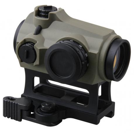 Maverick 1x22 Red Dot QD MIL Tan