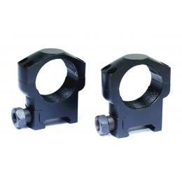 Anneaux de montage pour Lunette de visée 30mm ( Profile moyen )