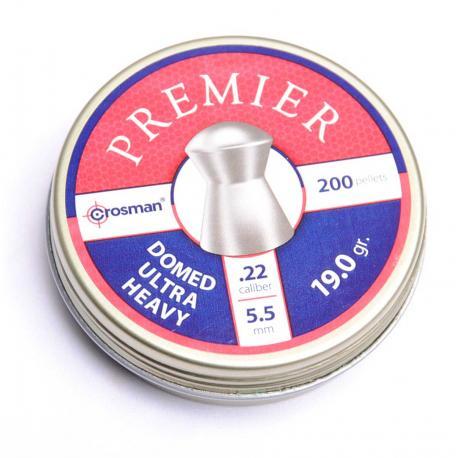 Domed Lead 5,5mm .22 box of 200pcs