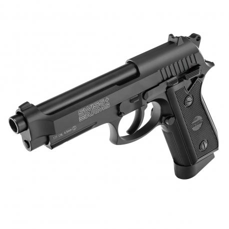 Pistolet P92 GBB Co2 4.5mm Full metal Noir