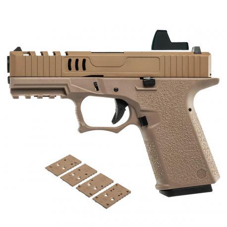 Pistolet VX9 GBB Precut AW Custom VX-9211 Tan