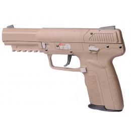 Custom By AG Pistolet FN Five Seven 5-7 GBB Tokyo Marui TAN