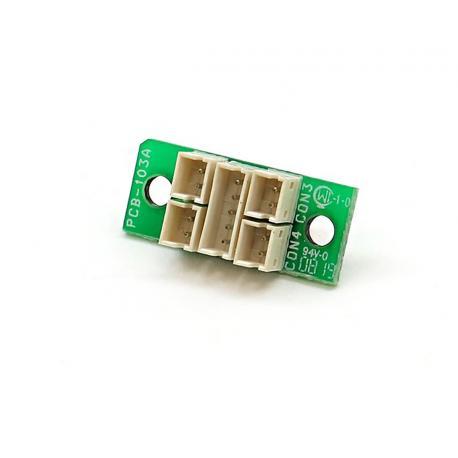 Plugboard universel + tube retractable transparent