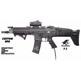 Custom By AG FN Scar-L CQC Mk16 Black + Polarstar F2